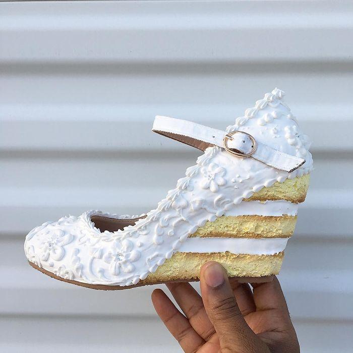 Туфли-торты: произведения кулинарного искусства Chris Campbell