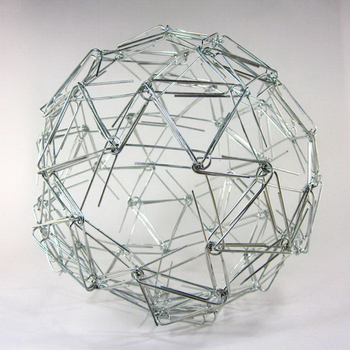 Геометрические скульптуры Zachary Abel