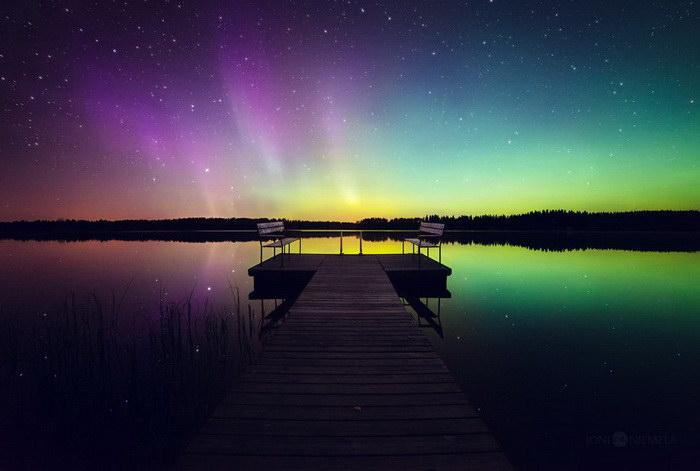 Бесконечное красивое небо в фотографиях Joni Niemel?