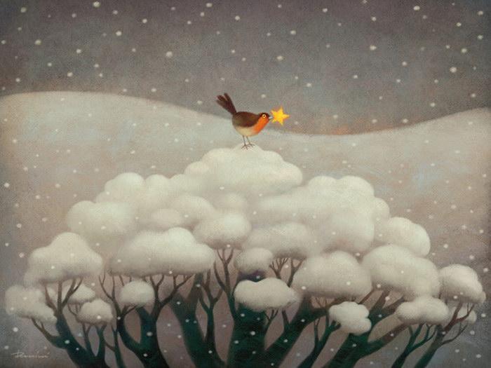 Атмосферные иллюстрации Paolo Domeniconi