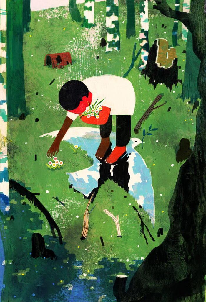 Самобытные иллюстрации Lisk Feng