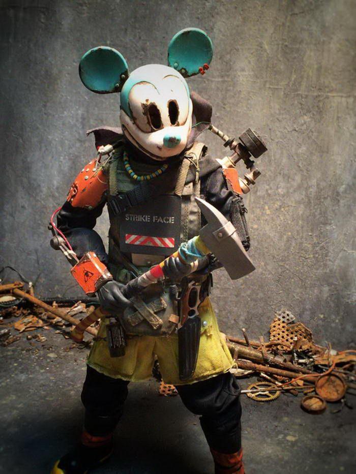 Постапокалиптические герои мультфильмов Y. Nakajima