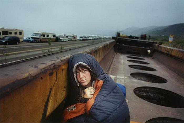 Бродяги Америки в фотографиях Mike Brodie