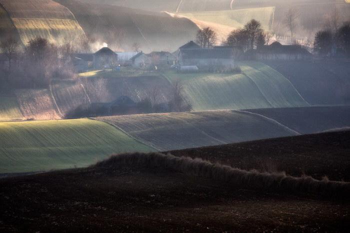 Польские просторы в фотографиях Przemysław Kruk