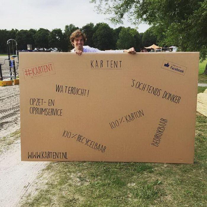 Тент-коробка KarTent вместо надоевших всем палаток