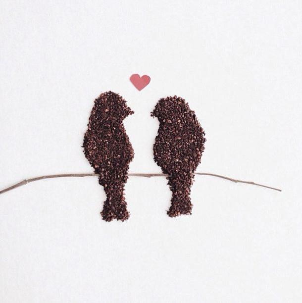 Кофейные иллюстрации Liv Buranday