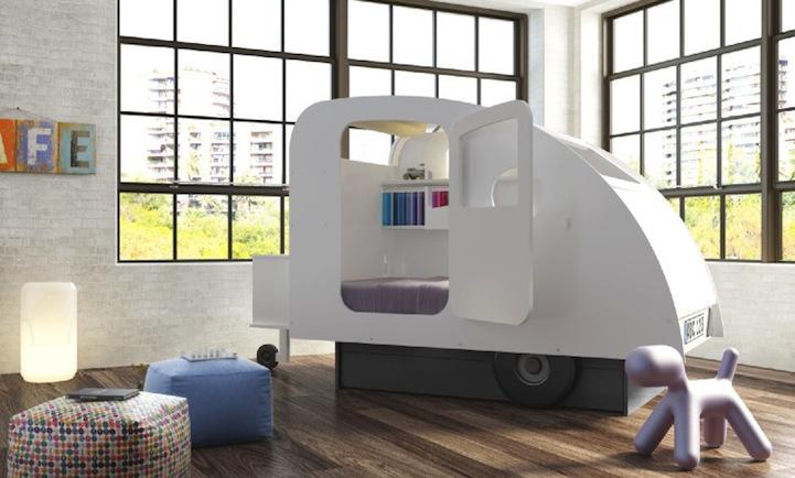 Креативные детские кроватки компании Mathy by Bols