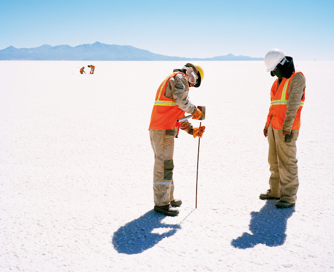 Фотографии солончаков Боливии