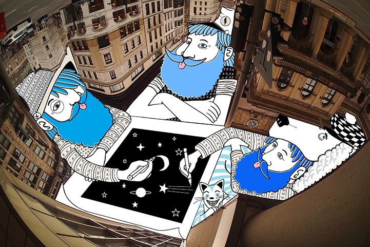 Иллюстратор Thomas Lamadieu