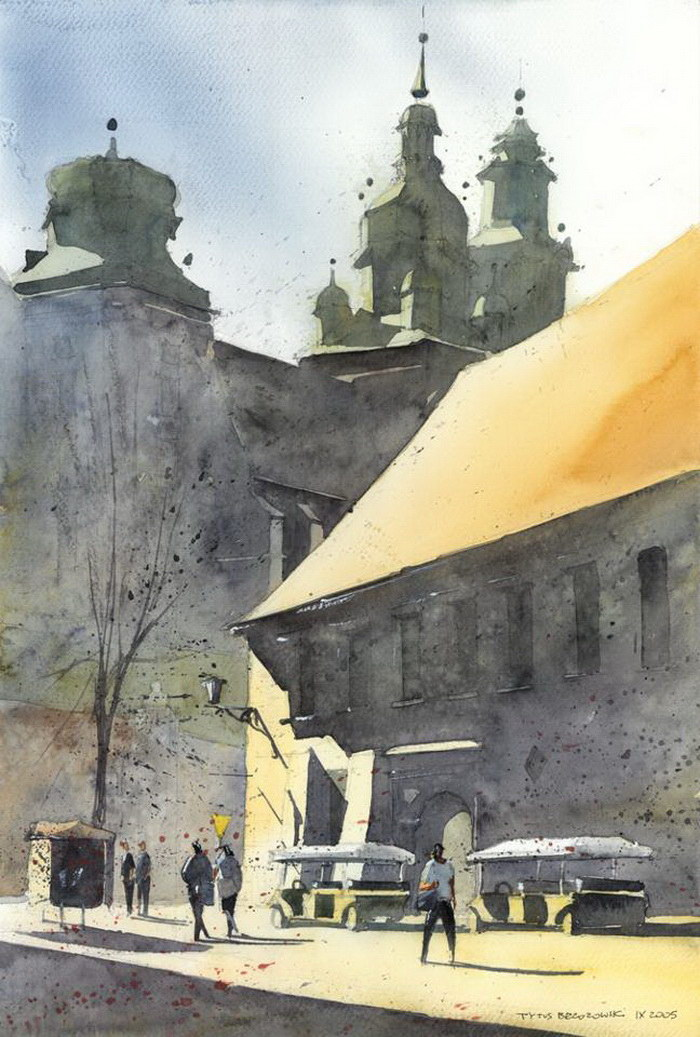 Акварели Tytus Brzozowski
