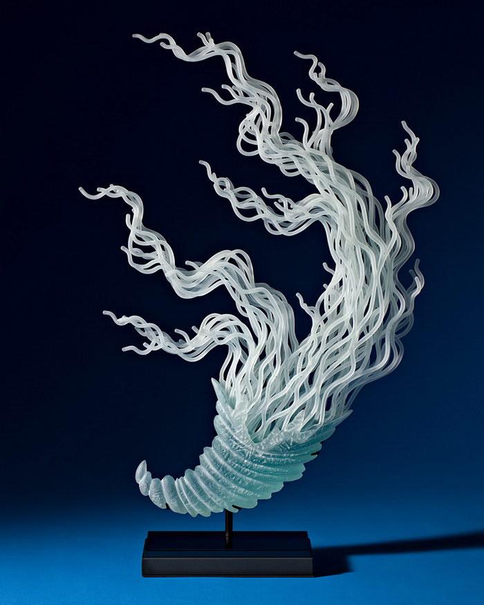 Стеклянные скульптуры K. William LeQuier