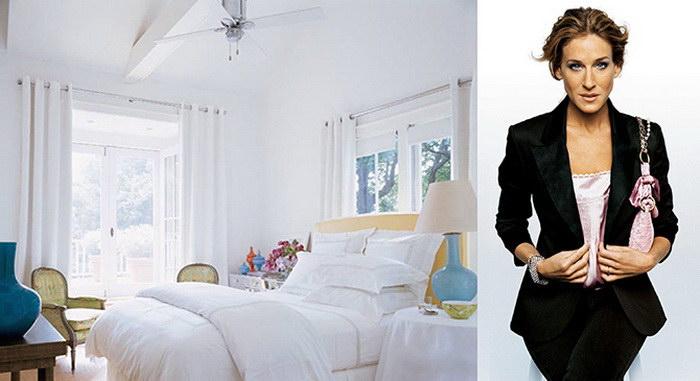 Как выглядят спальни знаменитостей