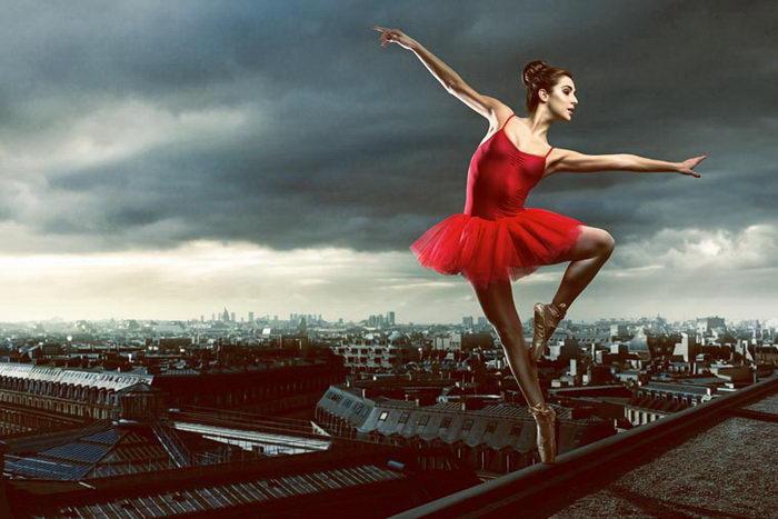 Танцоры в жизни и на фотографиях