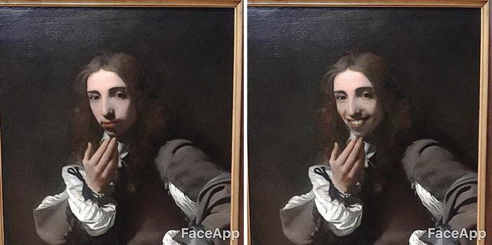 Как заставить картины улыбаться: проект Olly Gibbs