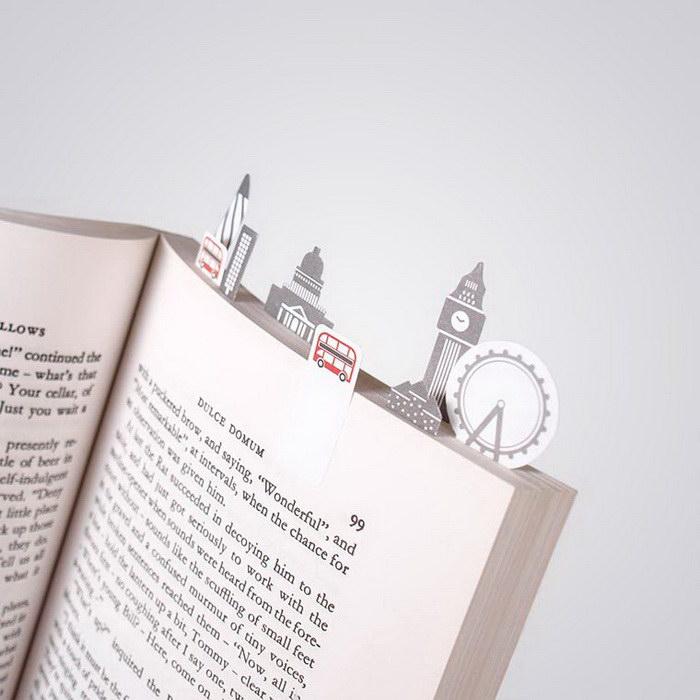 Креативные закладки для книг Duncan Shotton