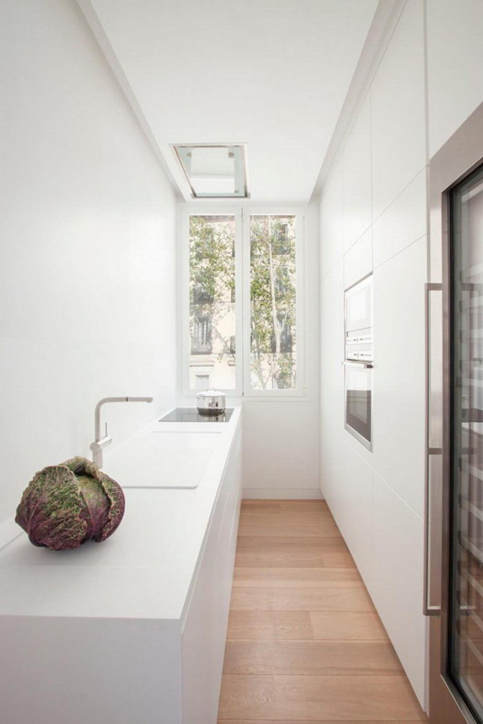 Светлые апартаменты в Мадриде