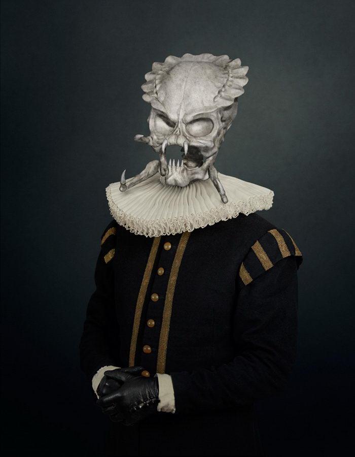 Скелеты киногероев в работах Travis Durden