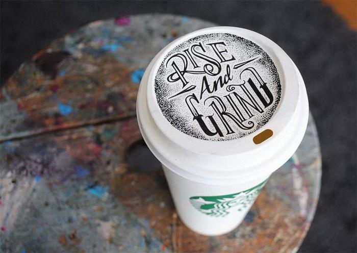 Типографика Rob Draper