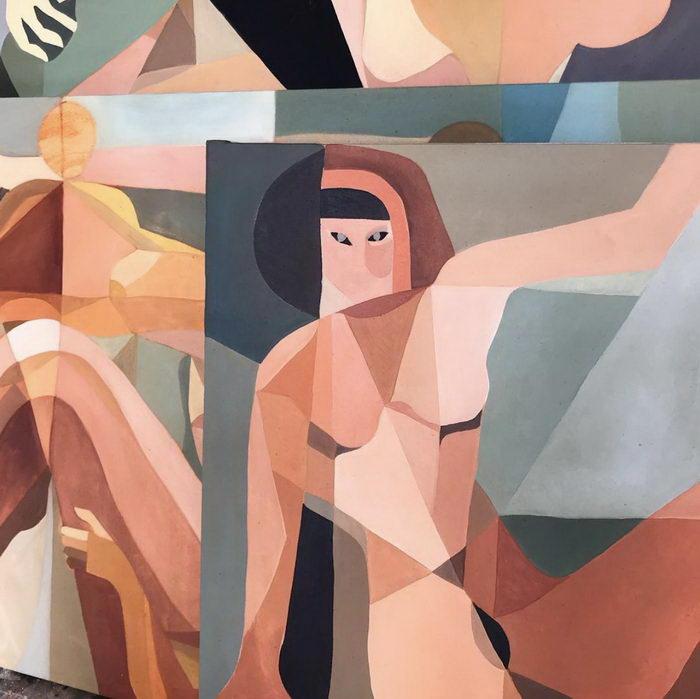 Между кубизмом и сюрреализмом: картины Jessalyn Brooks