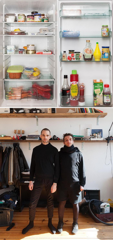 Люди и их холодильники: проект Sandra Juncker