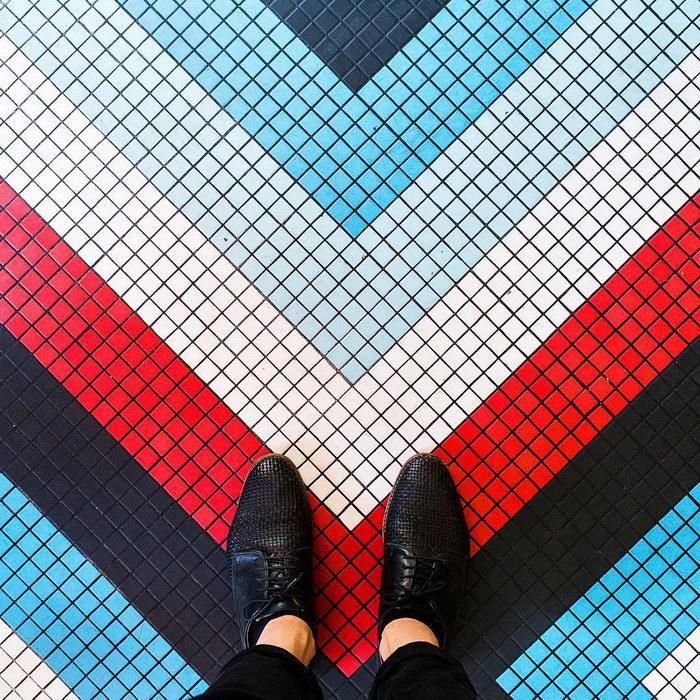 Полы Парижа в фотографиях Sebastian Erras