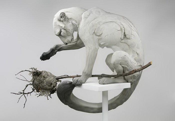 Скульптуры животных Beth Cavener