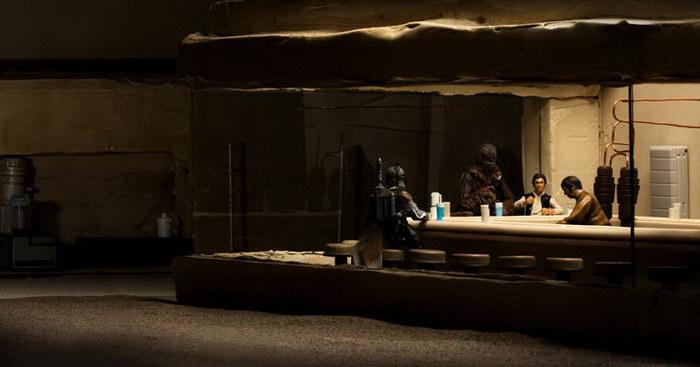 Выставка L'Expo Contre Attaque, посвященная Звездным Войнам