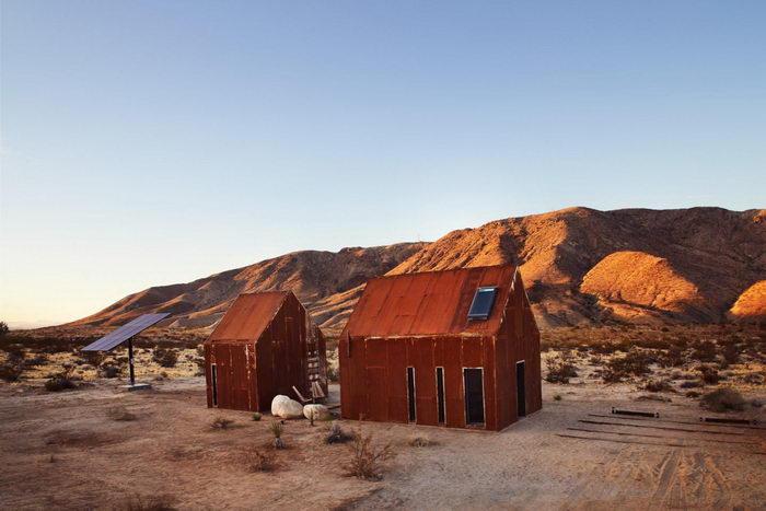 Калифорнийские дома в стиле минимализм