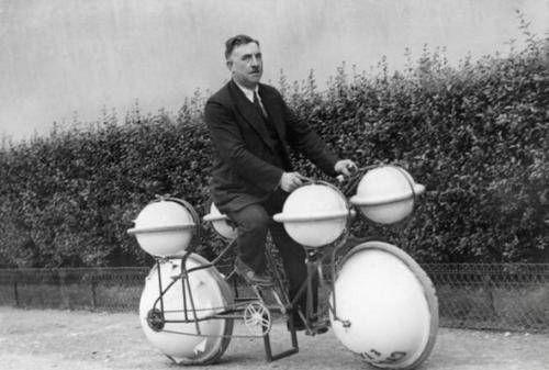 Самые необычные изобретения начала прошлого века