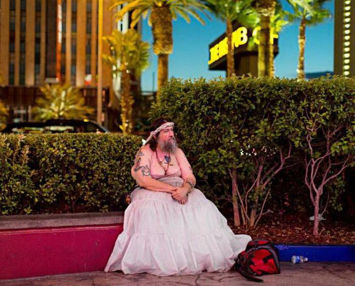 Потерянный Лас-Вегас в фотографиях Christian Lutz