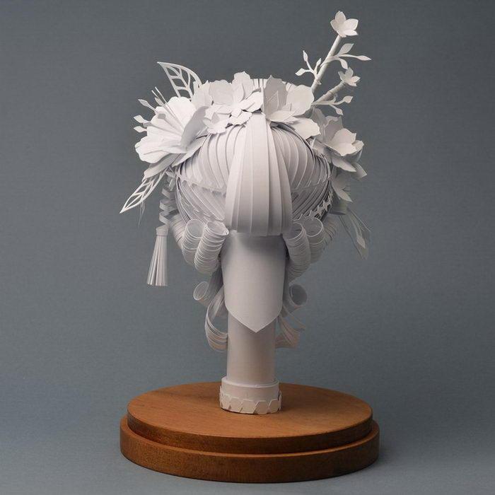Бумажные парики Asya Kozina