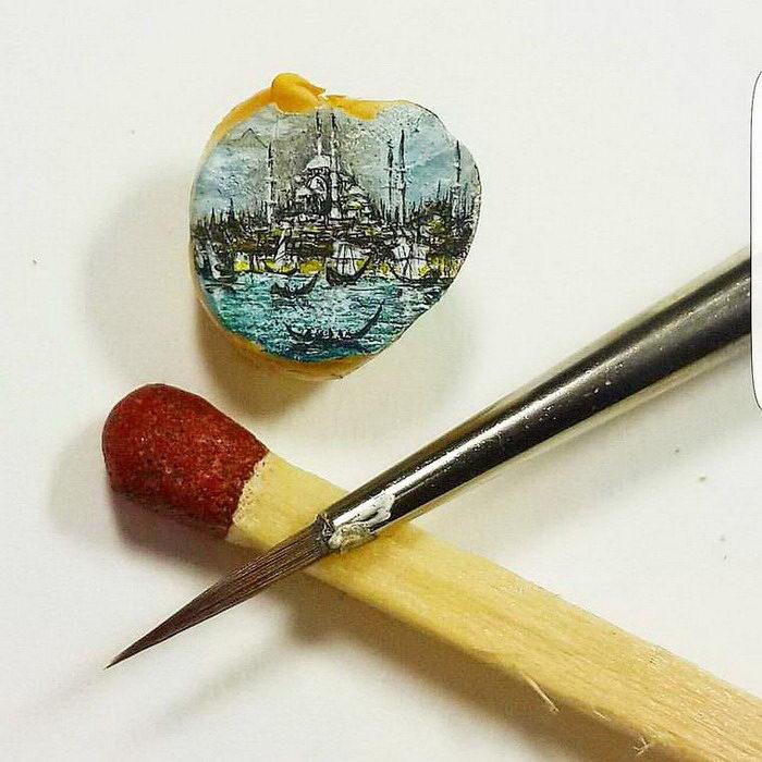 Потрясающие миниатюры Hasan Kale