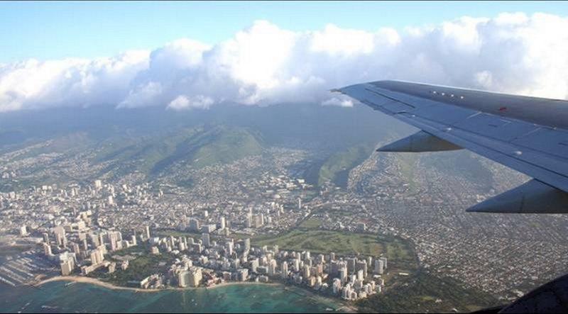 Наш мир из самолёта