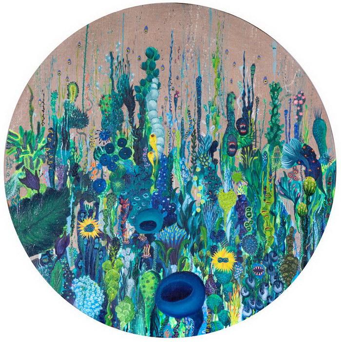 Буйство красок в картинах Ewa Goral