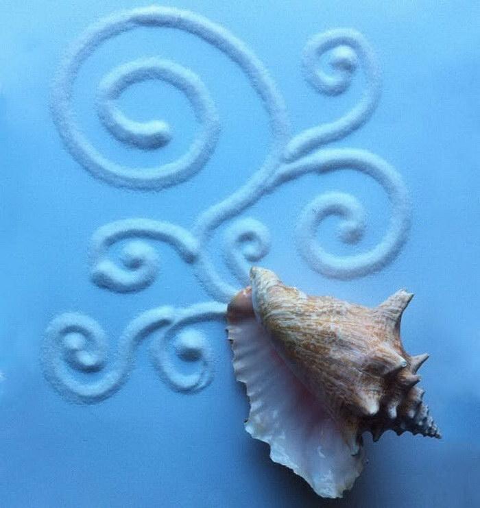 Искусство из капель воды: работы Aravis Dollmenna