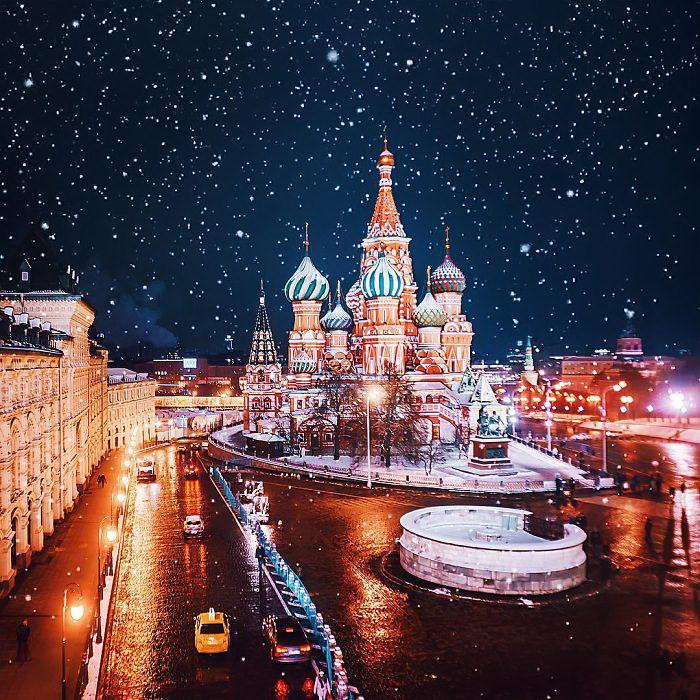 Невероятная Москва в фотографиях Kristina Makeeva