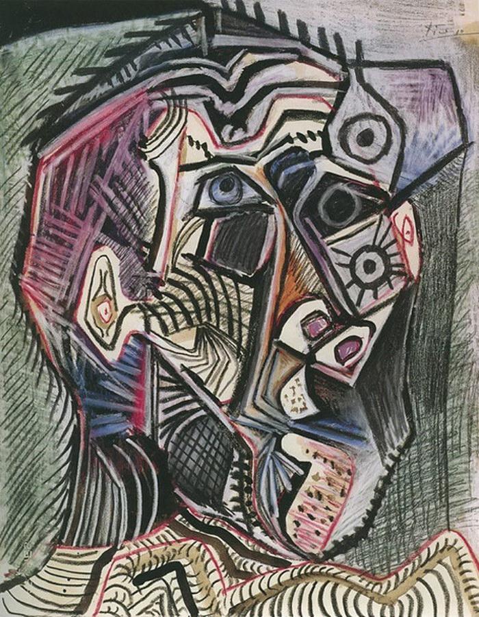 Эволюция автопортретов Пабло Пикассо