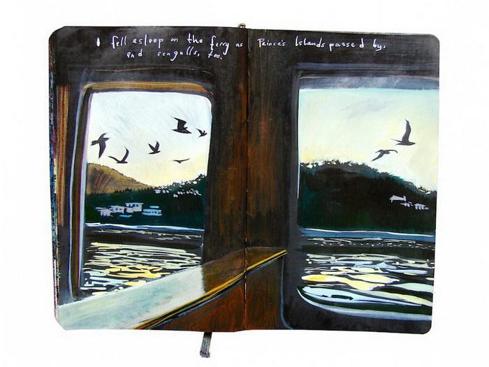 Блокнот с зарисовками Missy Dunaway