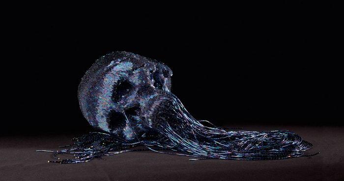Интересные черепа работы Jim Skull