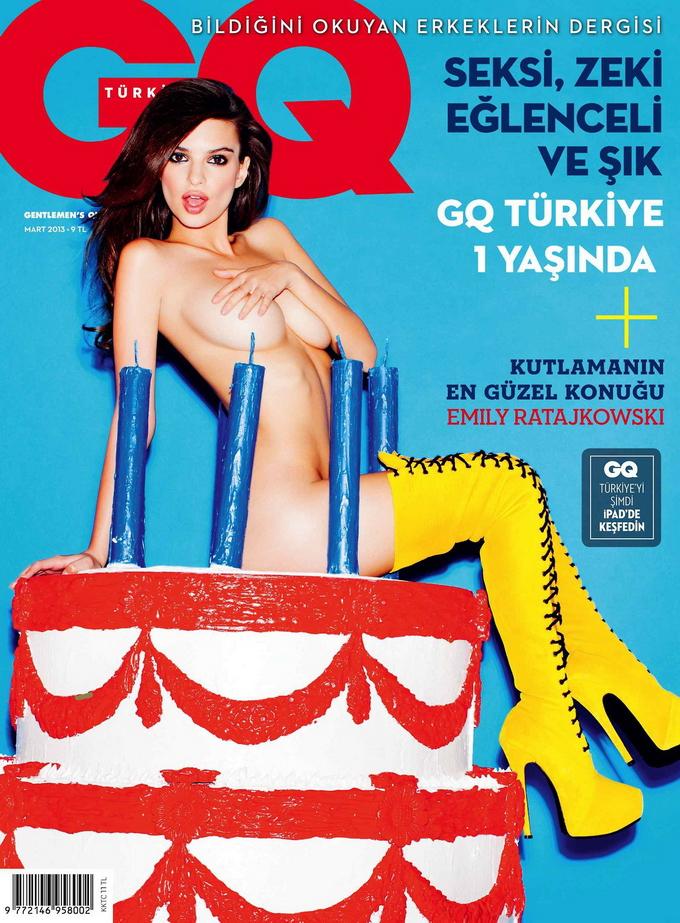 Откровенная фотосессия в GQ Turkey