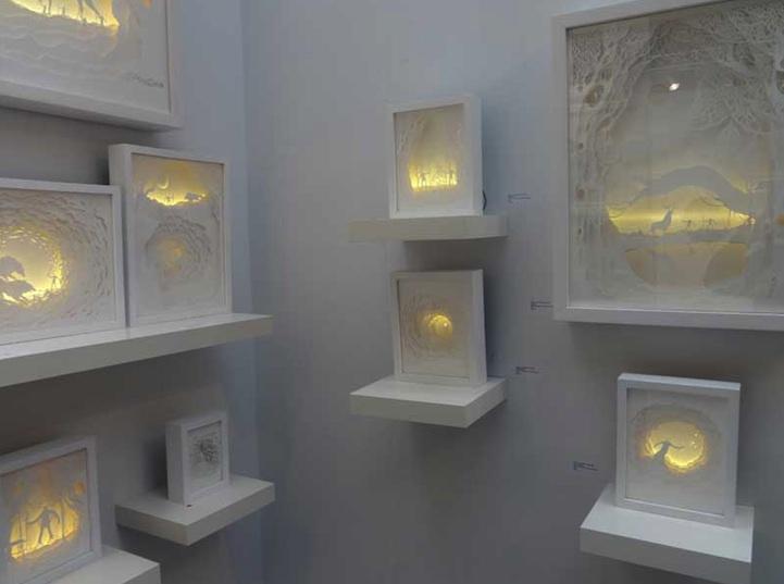 Инсталляции Hari & Deepti