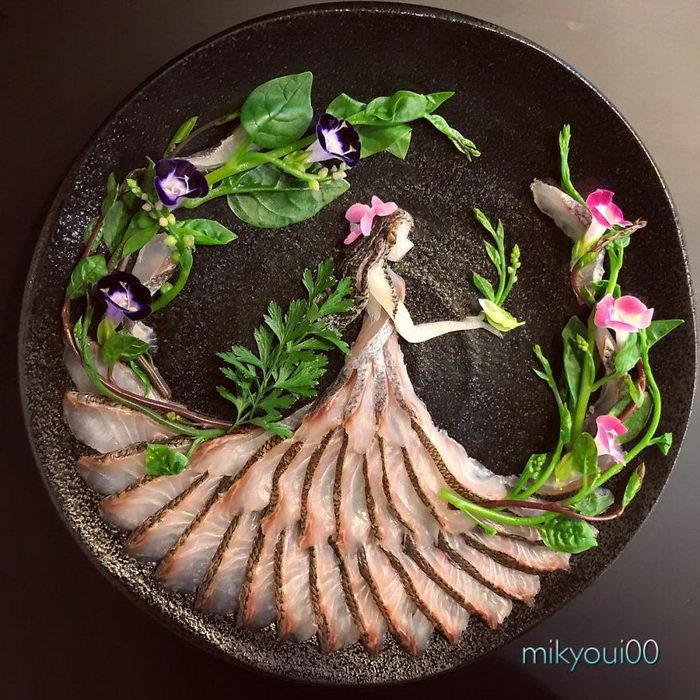 Креативные сашими mikyoui00