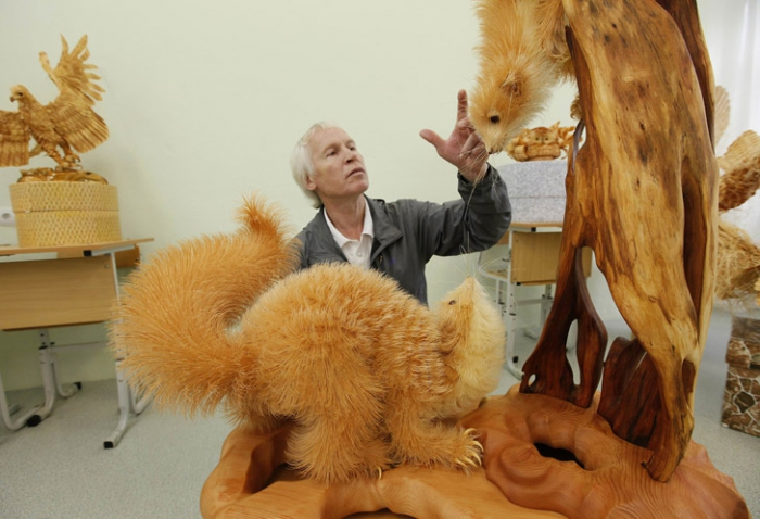 Скульптуры Сергея Бобкова