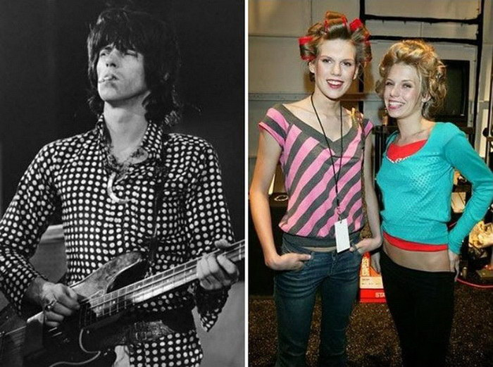 Как выглядят дети популярных рок-звезд