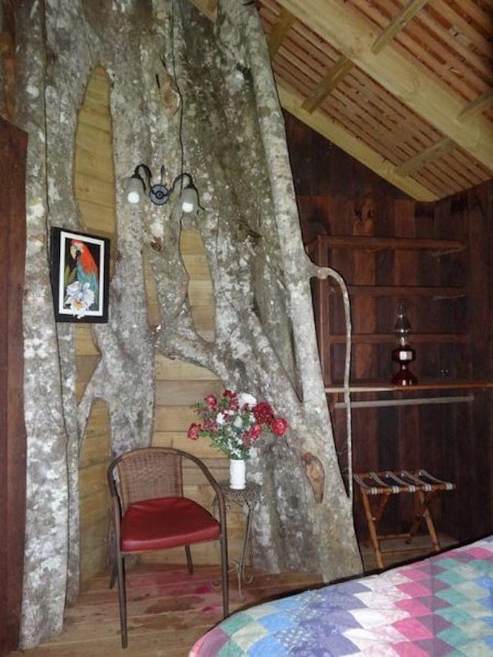 Необычный дом на дереве в Японии