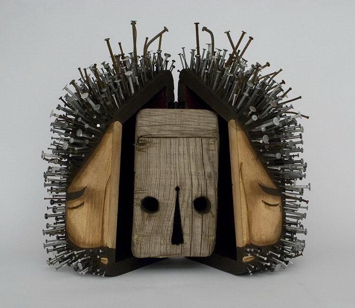 Необычные фигурки человечков авторства Jaime Molina