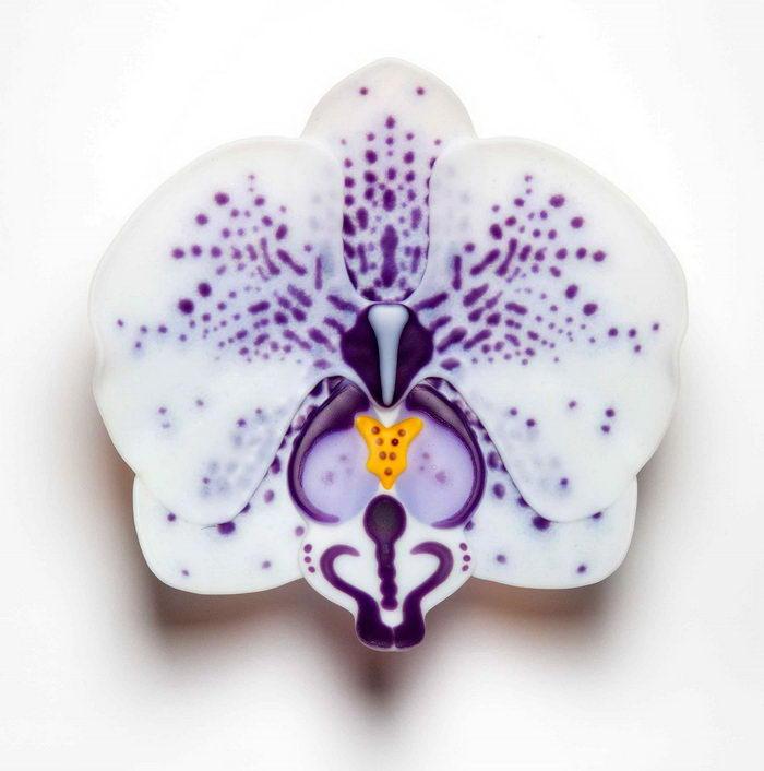 Стеклянные орхидеи Laura Hart