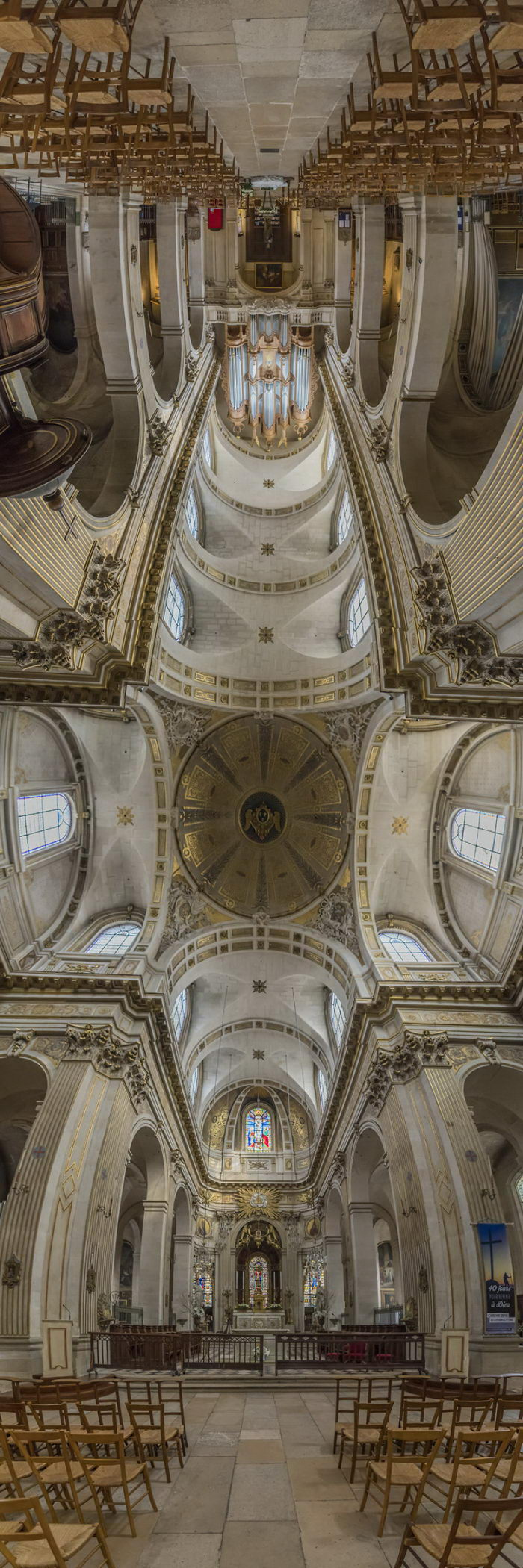 Соборы Парижа в панорамах Richard Silver