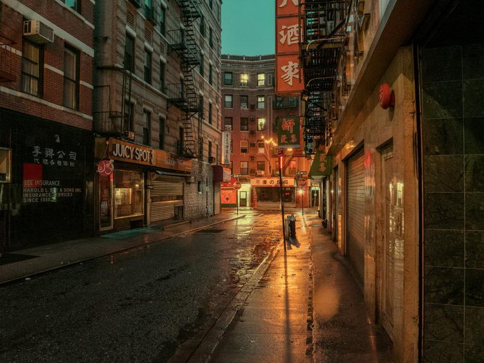 Чайна-таун Нью-Йорка в снимках Ludwig Favre