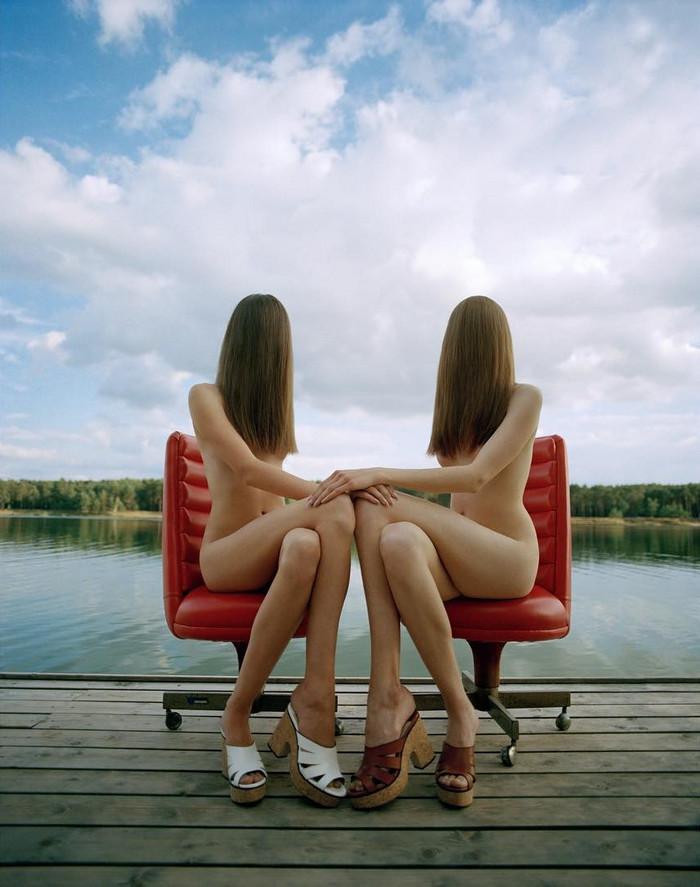 Интересные фешн-фотографии Michal Pudelka